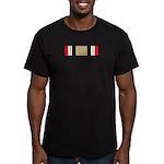 Iraq Campaign Men's Fitted T-Shirt (dark)