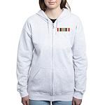 Iraq Campaign Women's Zip Hoodie