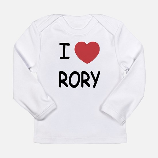 I heart rory Long Sleeve Infant T-Shirt