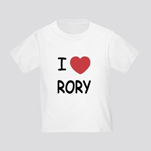 I heart rory Toddler T-Shirt