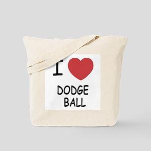 I heart dodgeball Tote Bag