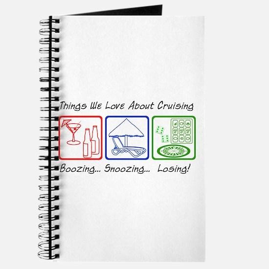 Boozing, Snoozing... Journal