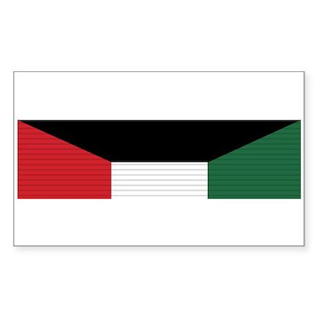Kuwait Liberation Sticker (Rectangle)