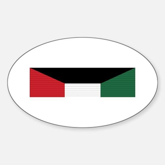 Kuwait Liberation Sticker (Oval)