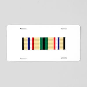 Southwest Asia Service Aluminum License Plate