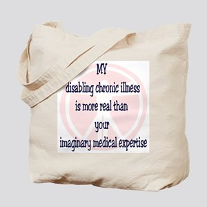 Chronic Illness Quote Tote Bag