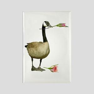 Canada Goose Rose Rectangle Magnet