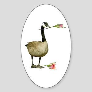 Canada Goose Rose Sticker (Oval)