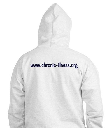 Chronic Illness Quote Jumper Hoody
