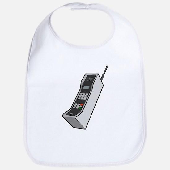 1980's Cellphone Bib