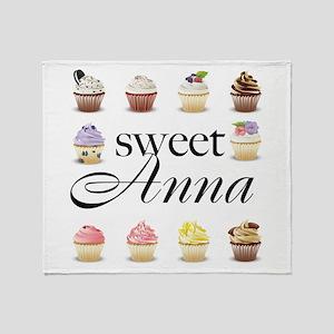 Sweet Anna Throw Blanket