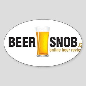 BeerSnob.ca Logo Sticker