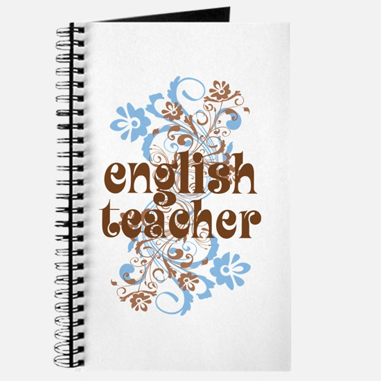 English Teacher Gift Journal