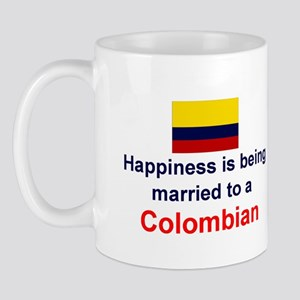 Happily Married To Colombian Mug