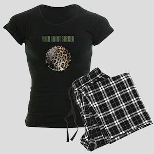 Wild About Soccer Women's Dark Pajamas