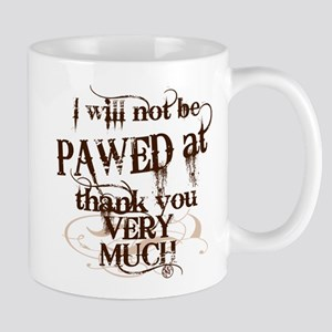"""Pawed at"" Mug"