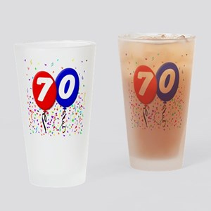 70th Birthday Pint Glass