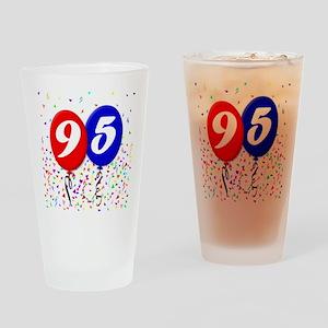 95th Birthday Pint Glass