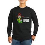 Funny Tequila Long Sleeve Dark T-Shirt