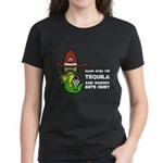 Funny Tequila Women's Dark T-Shirt
