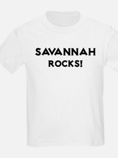 Savannah Rocks! Kids T-Shirt