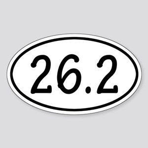 26.2 Oval Sticker