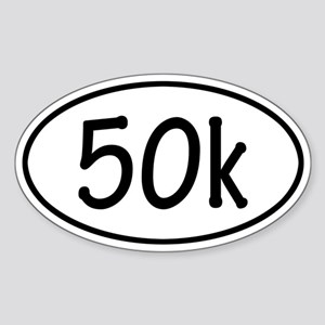 50k Oval Sticker