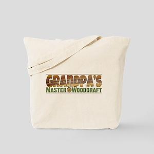 Grandpa's Master Woodcraft Tote Bag