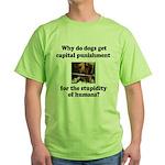 Capital Punishment Green T-Shirt