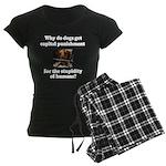 Capital Punishment Women's Dark Pajamas