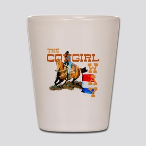 The Cowgirl Way Gifts & Tees Shot Glass