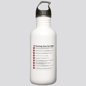Know Your TSA Rights Stainless Water Bottle 1.0L