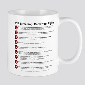 Know Your TSA Rights Mug