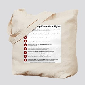 Know Your TSA Rights Tote Bag