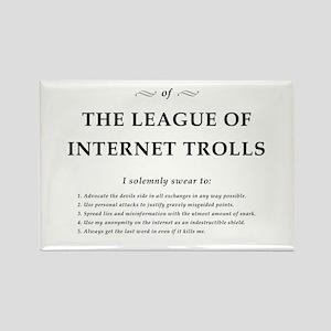 League of Internet Trolls Rectangle Magnet