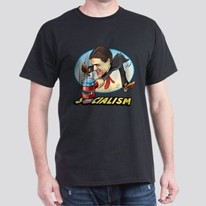 Perry Hammer Socialism Dark T-Shirt