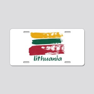 Lithuania Aluminum License Plate