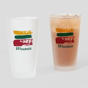 Lithuania Pint Glass