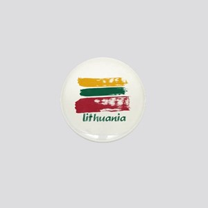 Lithuania Mini Button