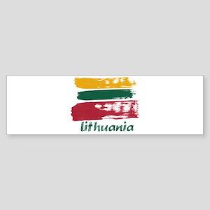 Lithuania Sticker (Bumper)