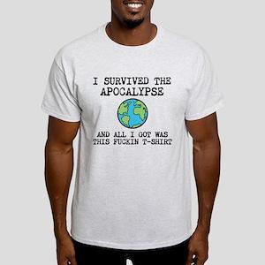 I Survived Apocalypse Light T-Shirt