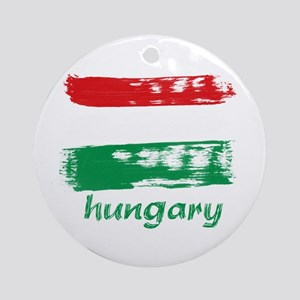 Hungary Ornament (Round)