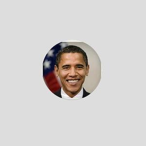 US President Barack Obama Mini Button