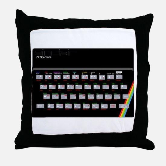Sinclair ZX Spectrum Throw Pillow