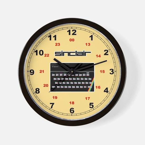 Sinclair ZX Spectrum Wall Clock