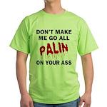 Palin 2012 Green T-Shirt