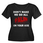 Palin 2012 Women's Plus Size Scoop Neck Dark T-Shi
