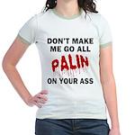 Palin 2012 Jr. Ringer T-Shirt