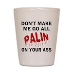Palin 2012 Shot Glass