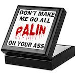 Palin 2012 Keepsake Box